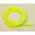 "Tubo Silicone Amarelo Flor 3/32""- 2,3mm-1M"