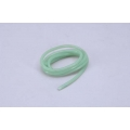 """Tubo Silicone Verde Transp 3/32""""- 2,3mm"""