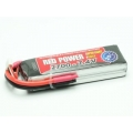 LiPo RED POWER SLP 2700 - 7,4V  XT60-XH